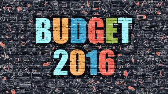 Budget 2016